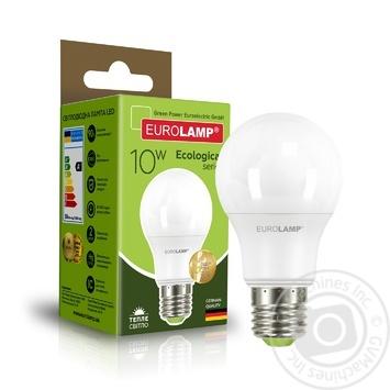 Лампа светодиодная Eurolamp LED A60 E27 10W 3000K - купить, цены на Novus - фото 2