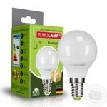 Лампа Eurolamp светодиодная G45 5W E14 4000K