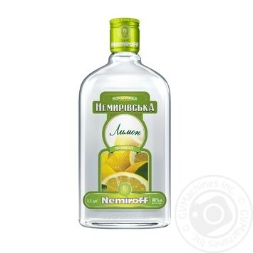 Flavored Vodka Nemiroff Citron 38%