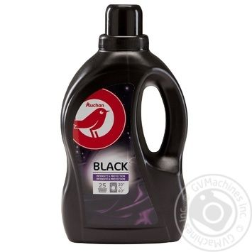 Auchan Liquid Detergent for Black Things 1,5l