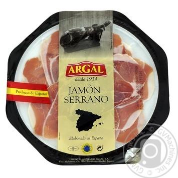 Jamon serrano Argal raw cured 100g - buy, prices for UltraMarket - photo 1