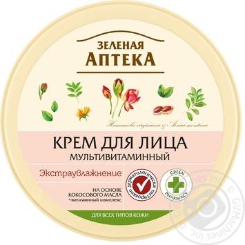 Крем для лица Зеленая Аптека Мультивитаминный 200мл