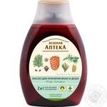Oils Zelenaya apteka with pine nuts for bath 250ml