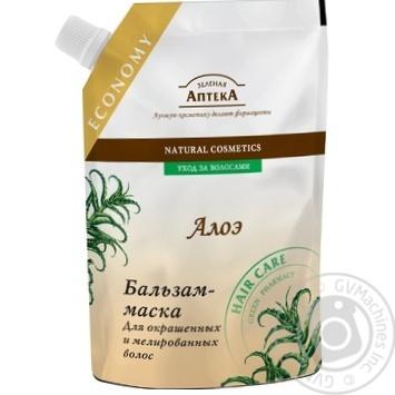 Бальзам Зеленая Аптека для окрашенных мелированных волос 200мл