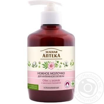 Milk Green pharmacy for an intimate hygiene 370ml Ukraine