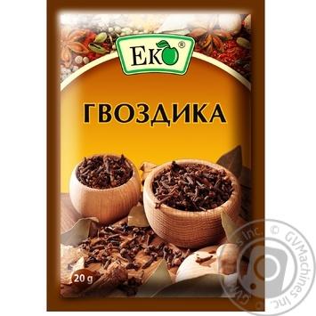 Приправа Эко Гвоздика 20г - купить, цены на Novus - фото 1