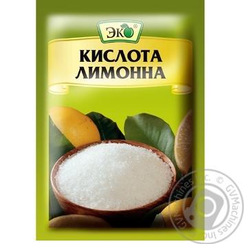 Кислота лимонна Еко харчова 25г - купити, ціни на Novus - фото 1