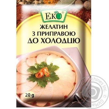 Eco Food Gelatin With Seasoning For Meat In Jelly - buy, prices for Furshet - image 1