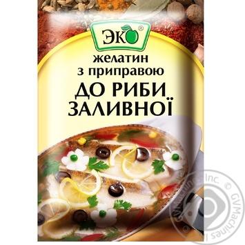 Приправа Эко для заливной рыбы с желатином 20г