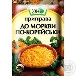 Приправа Эко для моркови по-корейски 20г