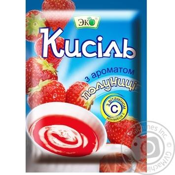 Кисель Эко со вкусом клубники 90г Украина