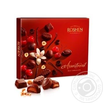 Цукерки шоколадні Roshen Assortment Еlegant 145г - купити, ціни на МегаМаркет - фото 1