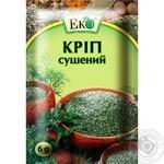 Укроп Эко сушеный 6г