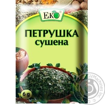 Eko dried parsley spices 6g - buy, prices for Novus - image 1