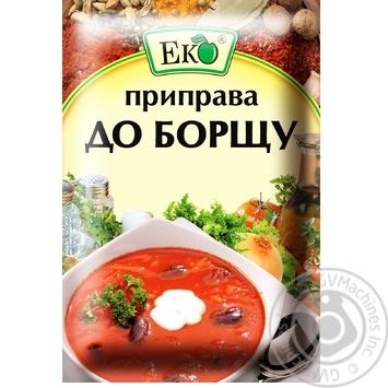 Приправа Эко для борща 20г - купить, цены на Novus - фото 1