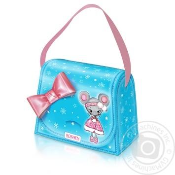 Набор подарочный №4 Roshen Новогодняя сумочка 319г - купить, цены на Novus - фото 1