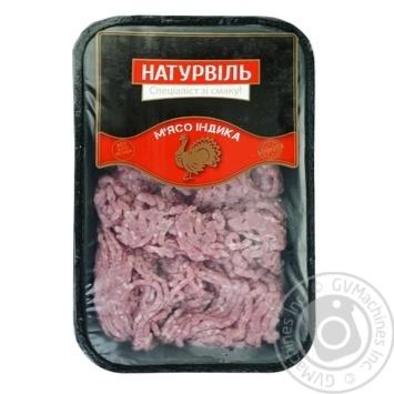 Фарш Натурвіль з м'яса індика ніжний - купити, ціни на Ашан - фото 1