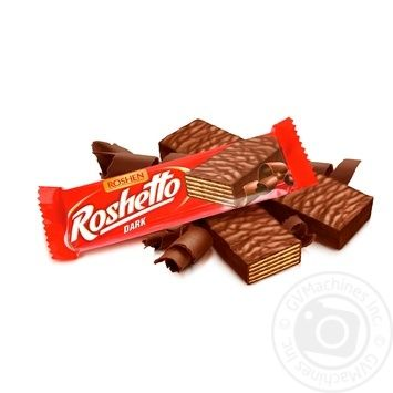 Roshen Roshetto Chocolate Candy Bar - buy, prices for MegaMarket - image 1