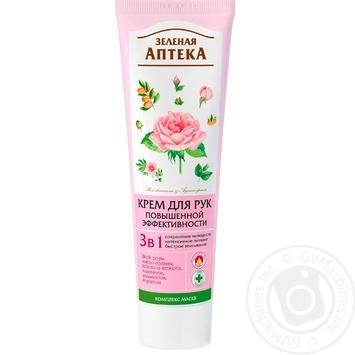 Zelenaya Apteka 3in1 High-performance Hand Cream 100ml - buy, prices for Novus - image 1