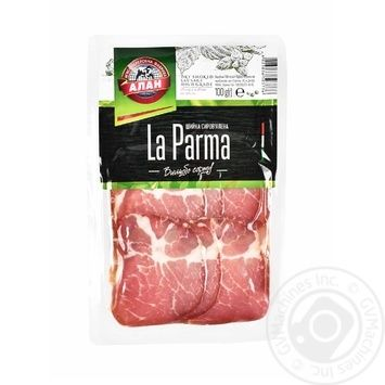 Neck Alan raw cured 100g vacuum packing - buy, prices for Auchan - image 1