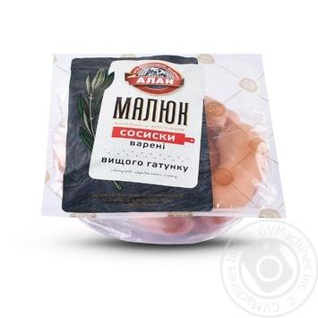 Sausages Alan Malyuk boiled