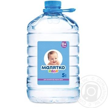 Вода Малятко негазированная с рождения 5л - купить, цены на Novus - фото 1