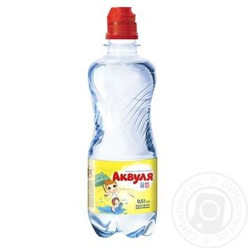 Вода Аквуля спорт негазированная детская 500мл - купить, цены на Фуршет - фото 1