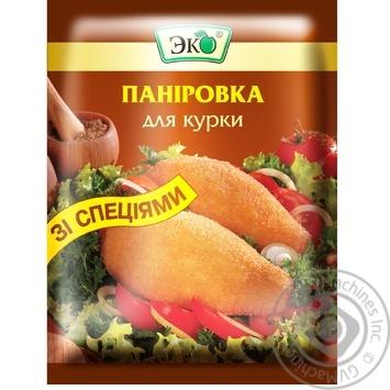 Панировка Эко для курицы 100г - купить, цены на Ашан - фото 1