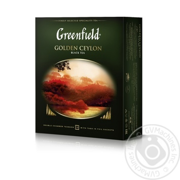 Tea Greenfield black packed 100pcs 200g - buy, prices for MegaMarket - image 2