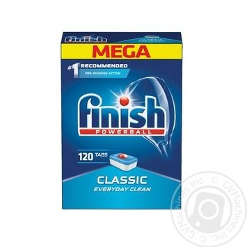 Finish Classic Dishwasher tablets 120 pieces - buy, prices for Auchan - photo 1