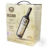 Вино Vaziani Саперави красное сухое 9,5-14% 3л