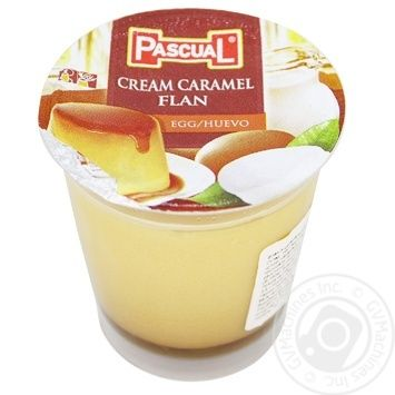 Pascual Flan with Caramel Syrup 100g - buy, prices for MegaMarket - image 1