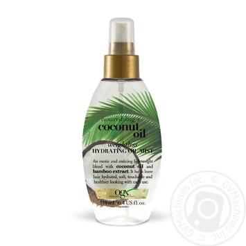 Масло-спрей для волос Ogx с гавайским орехом 118мл - купить, цены на Ашан - фото 1