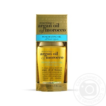 Ogx Argan Oil of Morocco Oil for Hair Recovery 100ml - buy, prices for MegaMarket - image 1