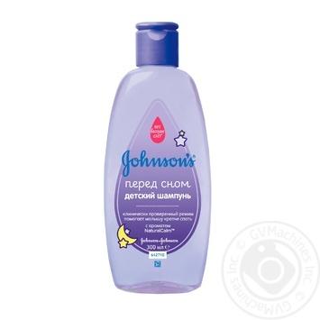 Шампунь для волосся Johnson's Перед сном дитячий 300мл - купити, ціни на Novus - фото 1