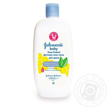 Johnson's Baby Pure Protect For Shower Gel-Foam 300ml - buy, prices for Novus - image 1