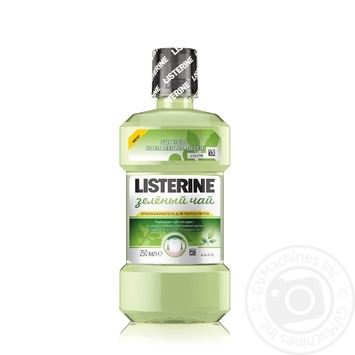 Listerine Green Tea Mouthwash 250ml - buy, prices for Furshet - image 1