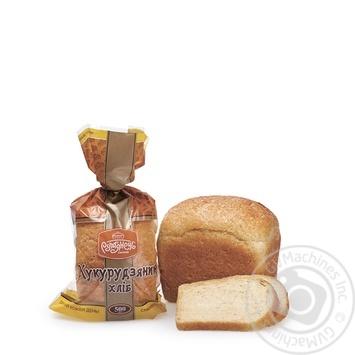 Хлеб Румянец Кукурузный 500г - купить, цены на Метро - фото 1