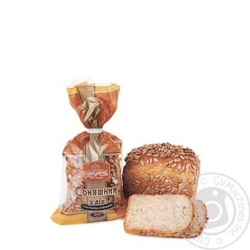 Хліб Рум'янець Соняшний з насінням соняшника 400г - купити, ціни на Метро - фото 1