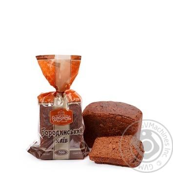 Хлеб Румянец Бородинский 500г - купить, цены на Метро - фото 1