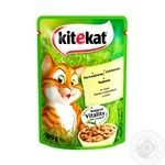 Kitekat conserve for cats with chicken in sauce100g