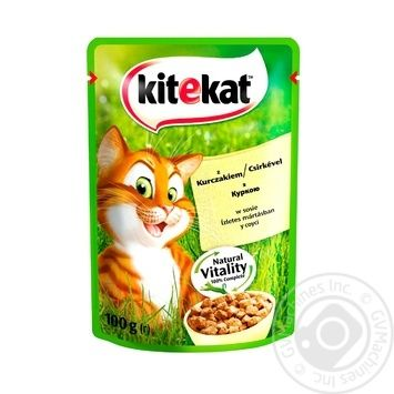 Kitekat Canned Food for Cats Chicken 100g - buy, prices for Furshet - image 3
