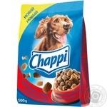 Корм для собак Chappi сухой говядина птица 500г