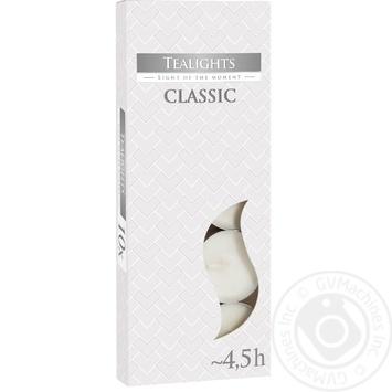 Свеча Bispol Classic 10шт - купить, цены на МегаМаркет - фото 1