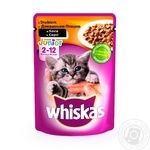 Whiskas With Chicken In Sause For Kittens Food - buy, prices for Furshet - image 1