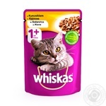 Whiskas With Chicken In Jelly For Adult Cats Food - buy, prices for Novus - image 1
