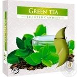 Свічка Bispol зелений чай 4шт