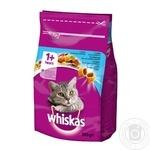 Корм сухой Whiskas для взрослых кошек с тунцом 300г - купить, цены на Novus - фото 1
