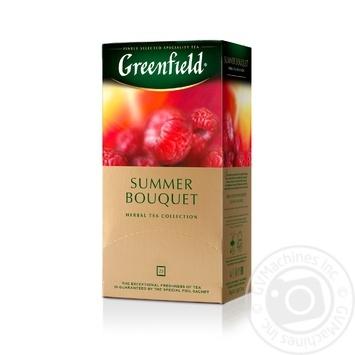 Чай Greenfield трав'яний Summer Bouquet  25шт*2г - купити, ціни на Метро - фото 2