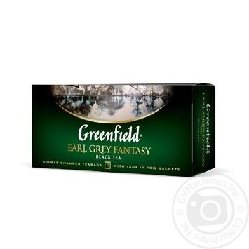 Чай Гринфилд Эрл Грей Фентези черный 2гх25шт - купить, цены на Novus - фото 3